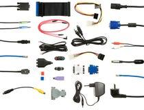 Positionnement de cordon et de câble Photos stock