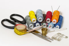 Positionnement de couture Image stock