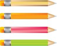 Positionnement de crayon de couleur Image libre de droits