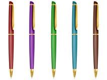 Positionnement de crayon lecteur. Image libre de droits
