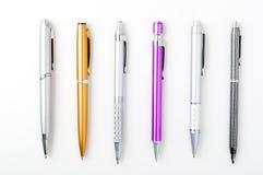 Positionnement de crayon lecteur Photographie stock
