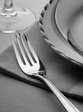 Positionnement de dîner images libres de droits