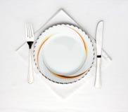 Positionnement de dîner photo libre de droits