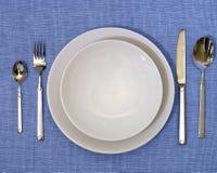 Positionnement de dîner photo stock