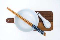 Positionnement de dîner chinois images stock