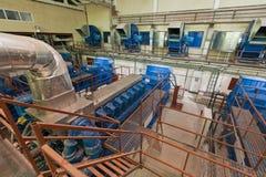 positionnement de Diesel-générateur Photographie stock libre de droits