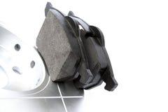 Positionnement de frein à disque de véhicule Images libres de droits