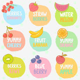 Positionnement de fruit Images stock