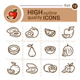 Positionnement de fruit Image libre de droits