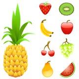 Positionnement de fruit Photos libres de droits