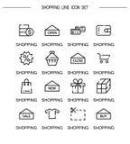 Positionnement de graphisme d'achats Image stock
