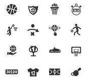 Positionnement de graphisme de basket-ball Photos stock