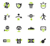 Positionnement de graphisme de basket-ball Photo stock