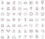 Positionnement de graphisme de course illustration stock