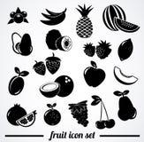 Positionnement de graphisme de fruit Photo libre de droits