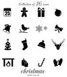 Positionnement de graphisme de Noël Image stock