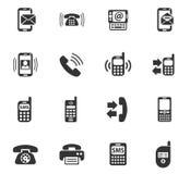 Positionnement de graphisme de téléphone Image libre de droits