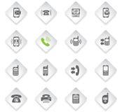 Positionnement de graphisme de téléphone illustration stock