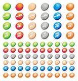 Positionnement de graphisme de vecteur pour les eshops et les impressions 1 Image stock