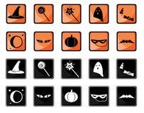 Positionnement de graphisme de Veille de la toussaint Images libres de droits