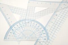 Positionnement de la géométrie. Image libre de droits