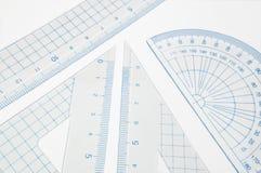 Positionnement de la géométrie. Photographie stock