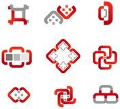 positionnement de logo Images stock