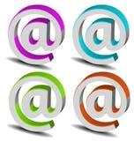 Positionnement de logo de la marque 3D de vecteur Photo libre de droits