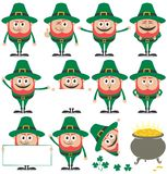 Positionnement de lutin Images stock