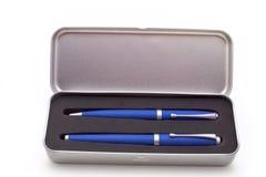 Positionnement de luxe de crayon lecteur Image libre de droits