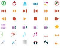 positionnement de musical de graphismes illustration de vecteur
