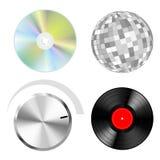 Positionnement de musique Image stock