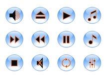 positionnement de musique de graphisme illustration stock
