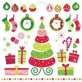 positionnement de Noël Images stock