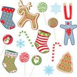 Positionnement de Noël Photographie stock