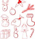 Positionnement de Noël Photos stock