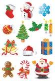 Positionnement de Noël Photo stock