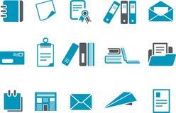 positionnement de papier de graphisme Photographie stock