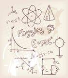 Positionnement de physique Photo libre de droits