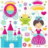 Positionnement de princesse Images stock