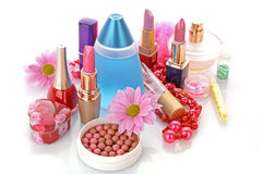 Positionnement de produit de beauté Images stock