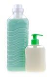 positionnement de produit de beauté de bouteilles Photo stock