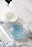Positionnement de soins de la peau Photos stock