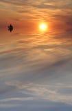 Positionnement de Sun Photo stock