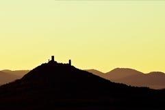 Positionnement de Sun Photo libre de droits