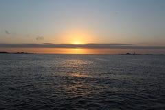 Positionnement de Sun Image libre de droits