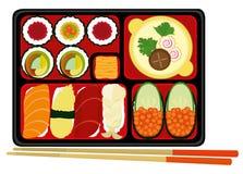 Positionnement de sushi. Images libres de droits