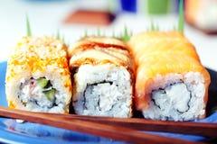 Positionnement de sushi Photos stock