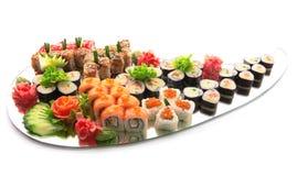 Positionnement de sushi photo libre de droits