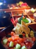 Positionnement de sushi Images stock